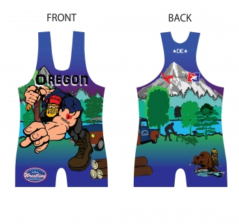Blue Logger 2014 Nationals Singlet