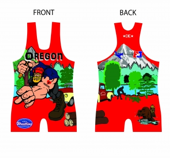 Red Logger 2014 Nationals Singlet