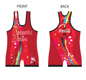 Fantastic Utters Ladies Coke Singlet