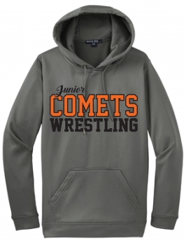 JR. Comets Sublimated Charcoal Hoodie