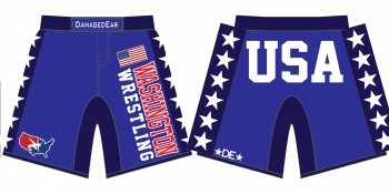 Washington Stars Fight Shorts