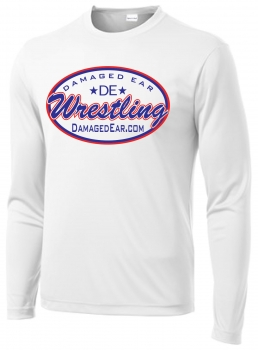 DE Sublimated White Long Sleeve Shirt