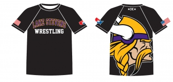 Lake Stevens Viking Rash Guard