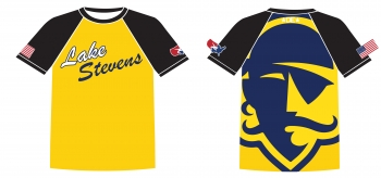 Lake Stevens Pirate Sublimated Shirt