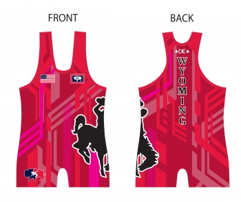 Wyoming Red Singlet