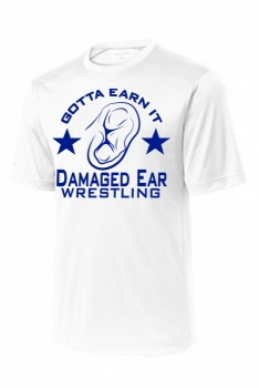 Gotta Earn It Sublimated White SS Shirt