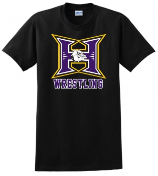 Hermiston Wrestling Black T-Shirt