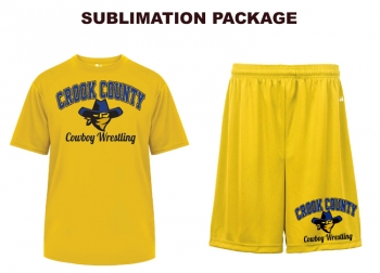 Badger Gold Sublimated Package