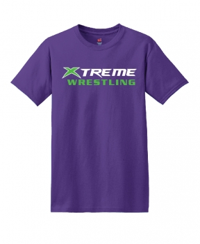 Xtreme Wrestling Purple T-Shirt