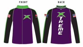 Xtreme Wrestling Full Zip Jacket