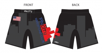 Pin City Fight Shorts