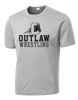 Outlaw Wrestling Performance Shirt