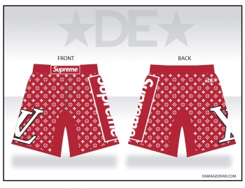 LV Womens Supreme Fight Shorts