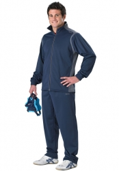 WS966 - All-American Brushed Poly Tricot Warm-Up Suit
