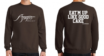 Askeo Brown Crew Neck Sweatshirt
