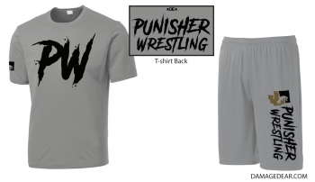 Punisher Wrestling Sublimated Performance Package