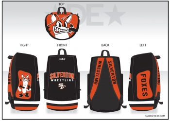 Silverton Wrestling Sublimated Bag