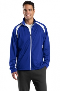 Sport-Tek� - Tricot Track Jacket. JST90 Product Description