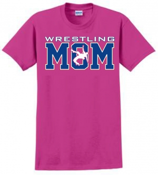 Heleconia Wrestling Mom T-Shirt