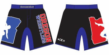 Team Oregon Damaged Ear Fight Shorts