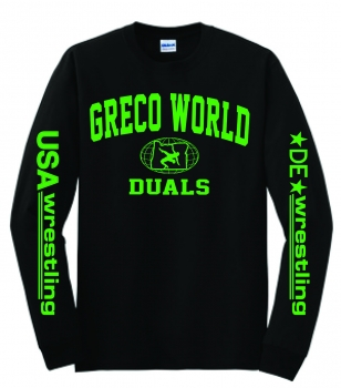 Greco Worlds Long Sleeve T-Shirt