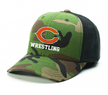 JR. Comets Trucker Hat Camo/Black