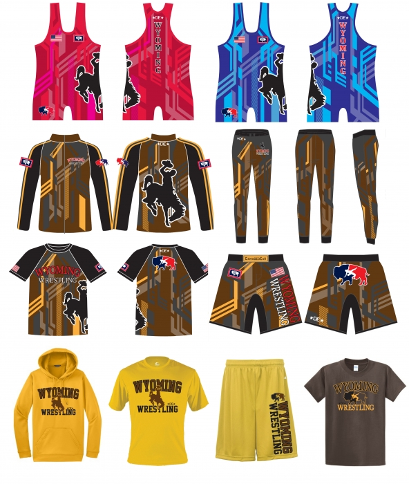 Team Wyoming Gold Gear Pack