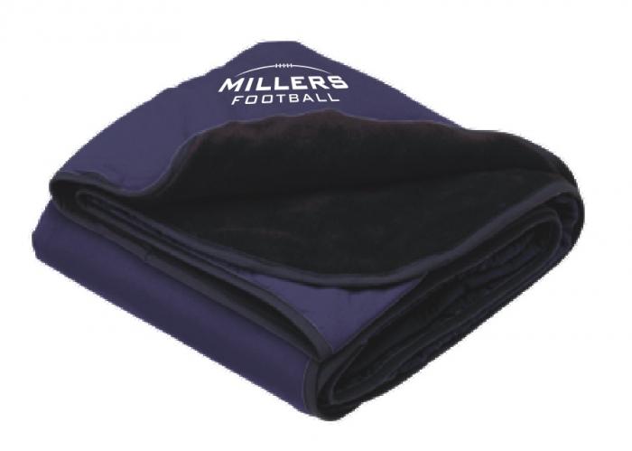 Millers Fleece Nylon Stadium Blanket Embroidered