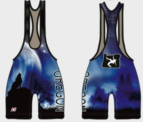 Alaska Wrestling Singlet Low cut