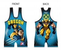 2016 Blue Jr Duals Singlet