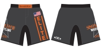 Salem Elite Grey Fight Shorts