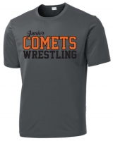 JR. Comets Sublimated Charcoal Shirt