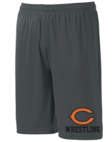 JR. Comets Sublimated Charcoal Shorts