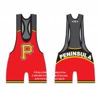 Peninsula Low Cut Red Singlet
