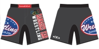 Damaged Ear Charcoal Fight Shorts