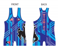 Wyoming Blue Singlet