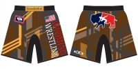 Wyoming Fight Shorts