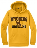 Wyoming Sublimated Gold Hoodie