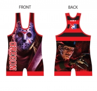 Fright Night Singlet - Red