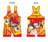 Dragon Ball Z Goku Singlet - Red