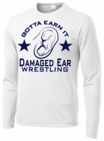Gotta Earn It LS White Sublimated Shirt