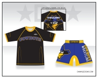 Crook County Wrestling Rashguard and Fight Shorts Package