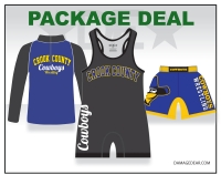 Crook County Singlet Combo Package