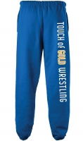 Touch of Gold Sweats - Royal Blue