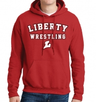 Liberty Lions Wrestling Hoodie