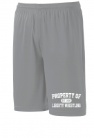Liberty Lions Gray Performance Shorts