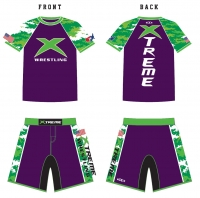 Xtreme Rashguard and Fight Shorts Package
