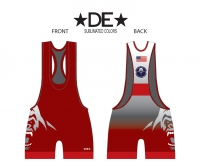 Salmon Creek Silverbacks Low Cut Red Singlet