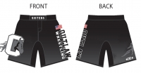 Sisters Outlaw Fight Shorts