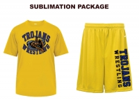 Trojans Badger Gold Sublimated Package